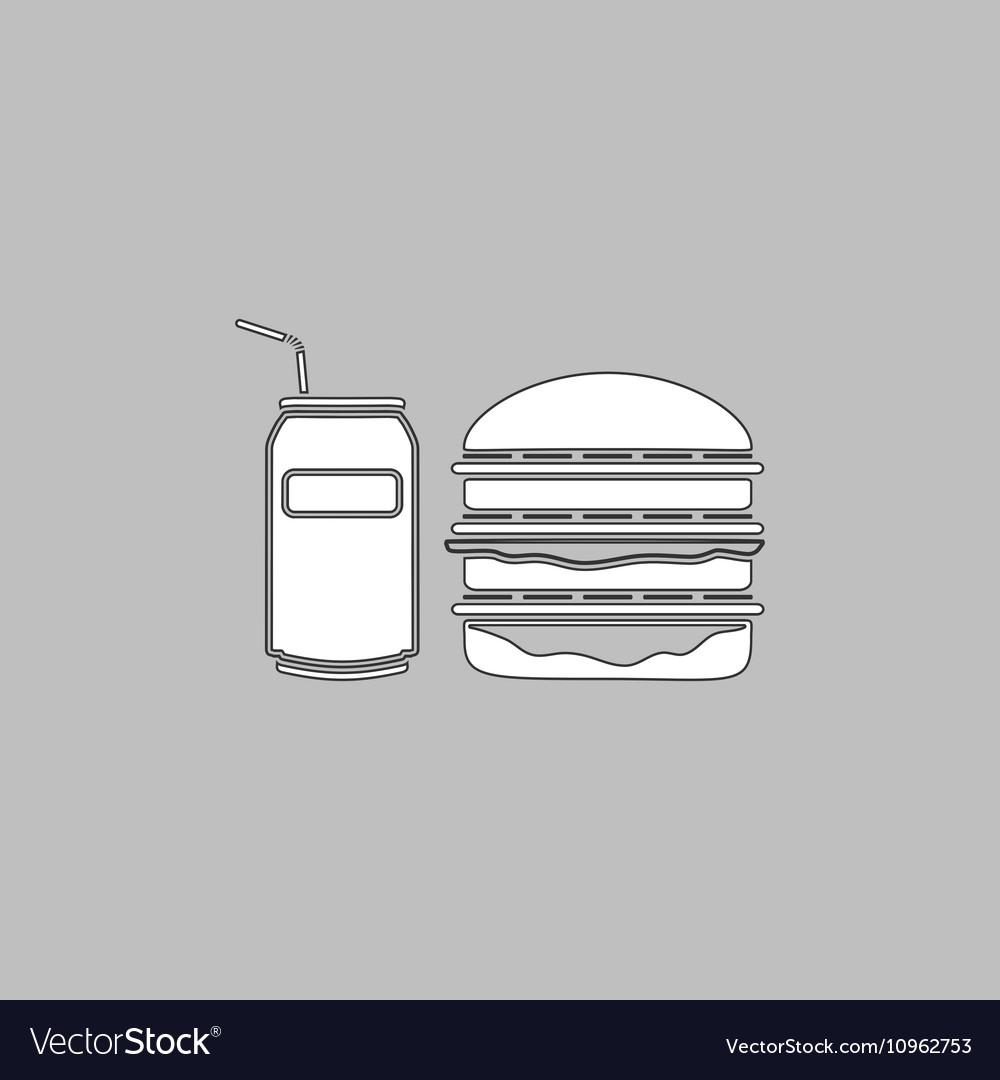 Fast food computer symbol