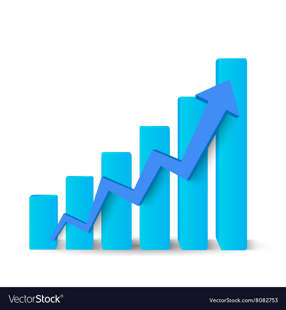Growing blue graph
