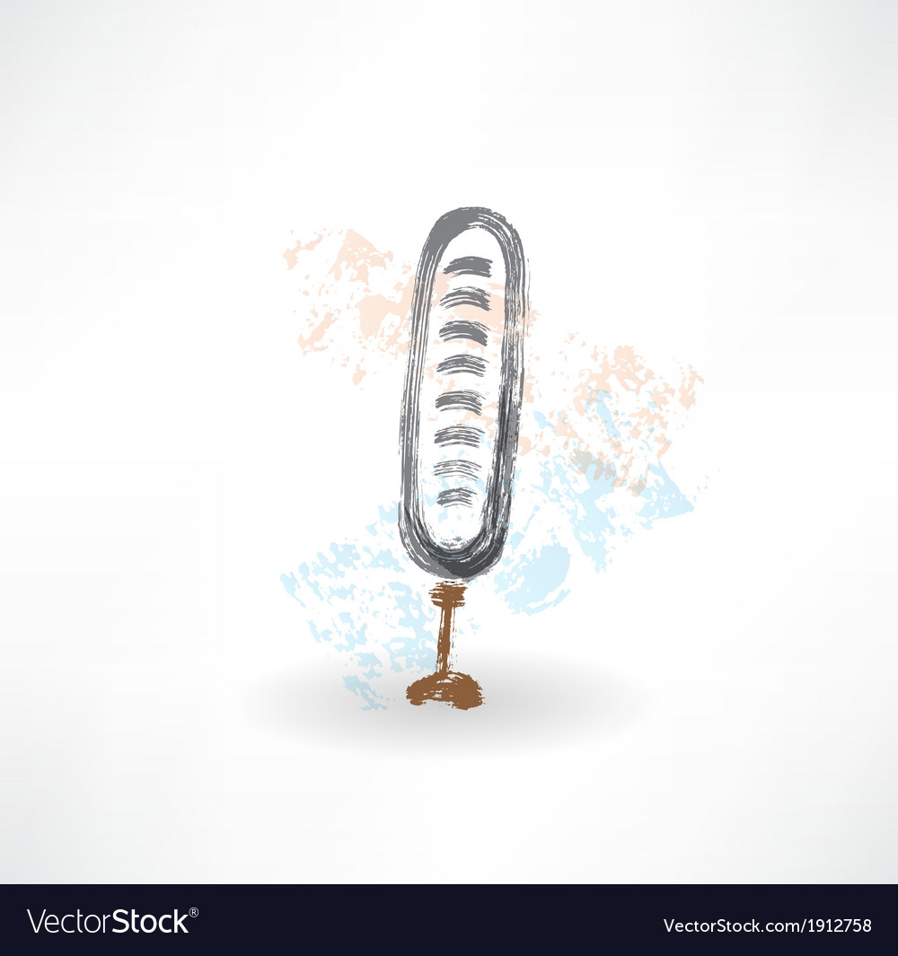 Brush microphone icon