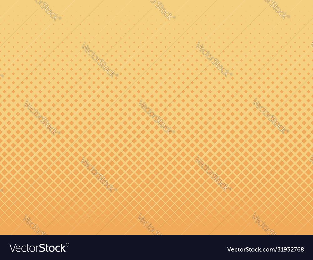 Geometric background yellow wafer seamless pattern