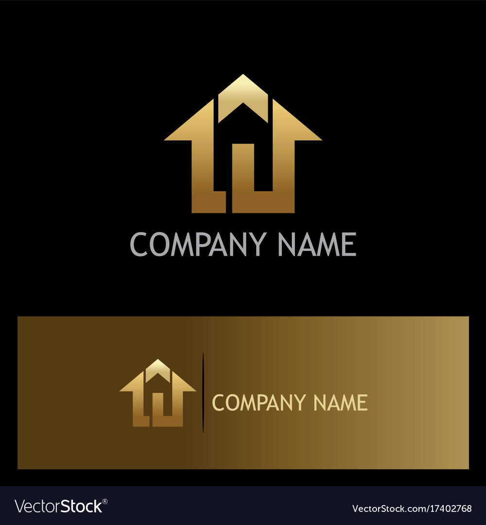 Home agent realty gold logo