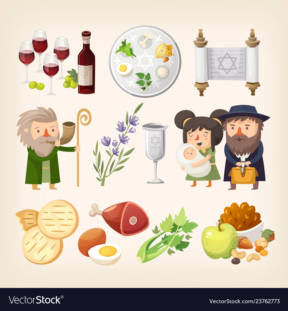 Passover or pesach - traditional jewish holiday