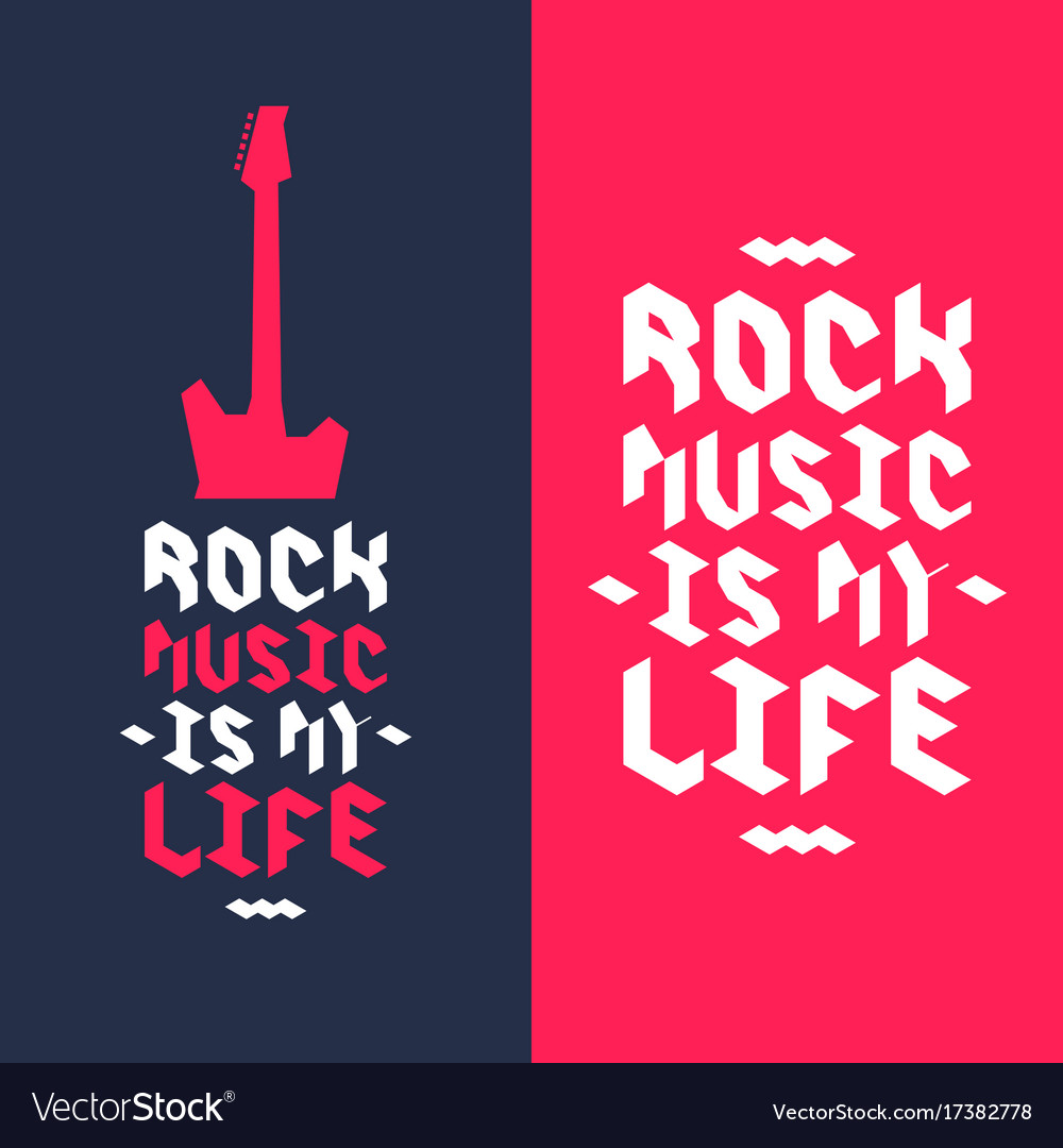 A poster rock is my life