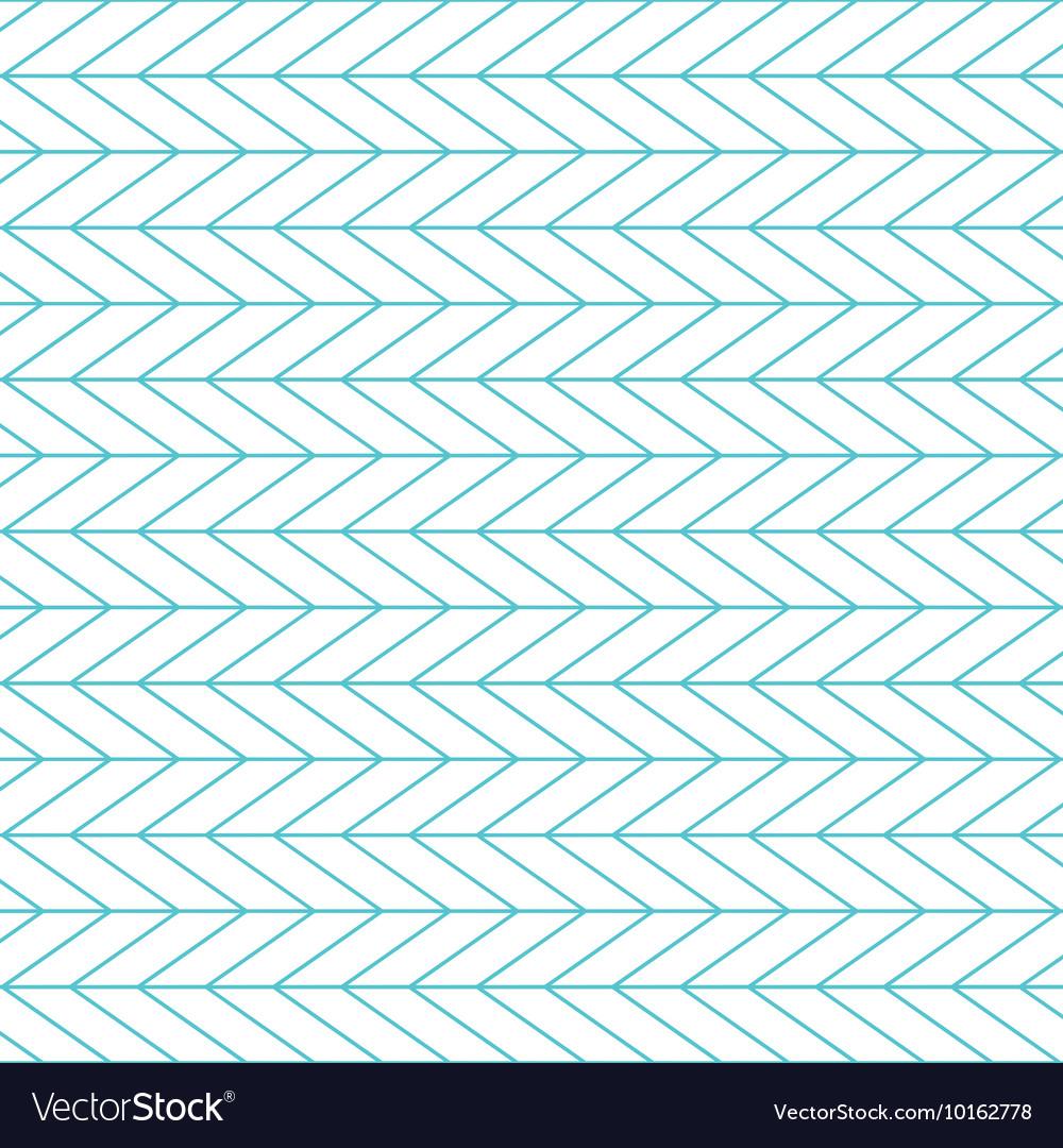 Herringbone chevron pattern background vector image