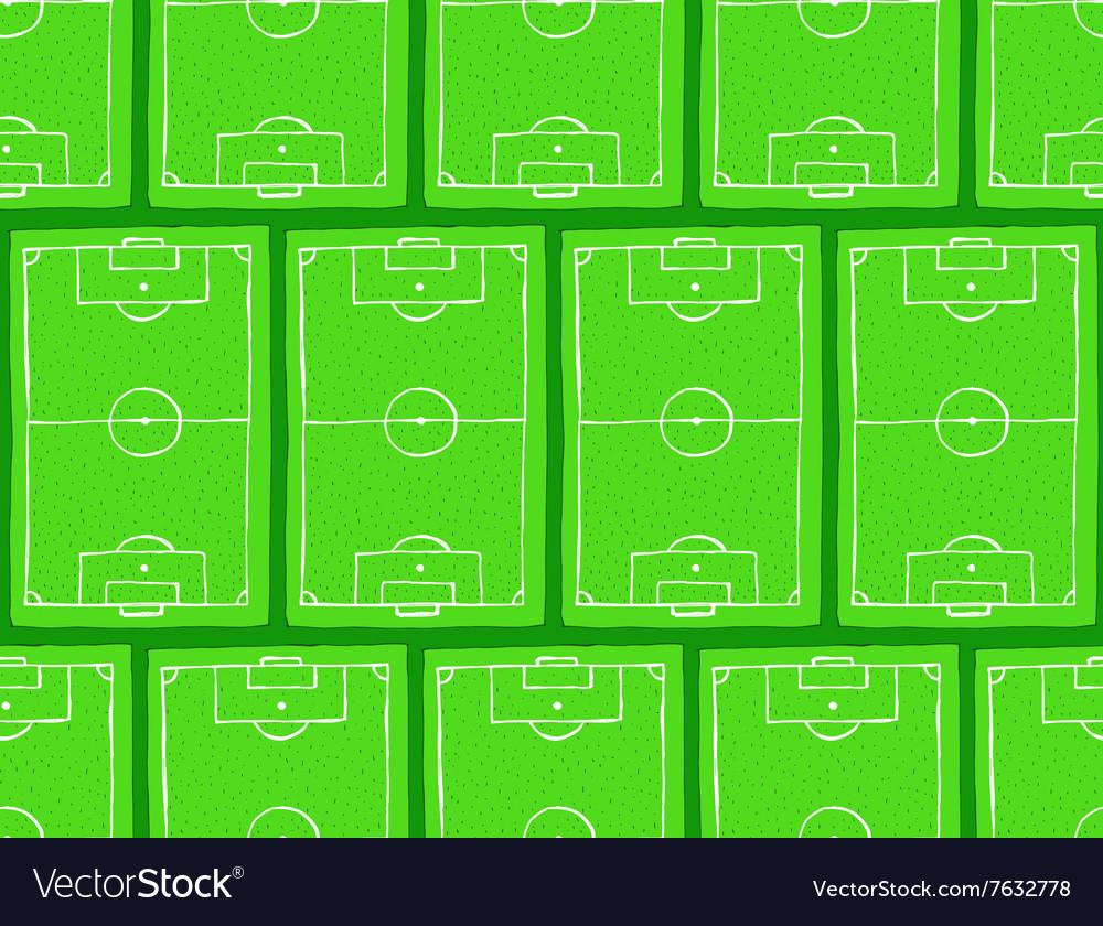 Sketch football field pattern