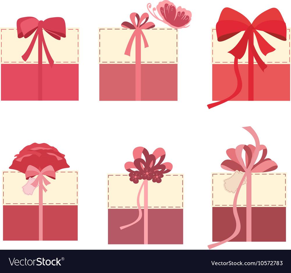 Beautiful gift boxes set