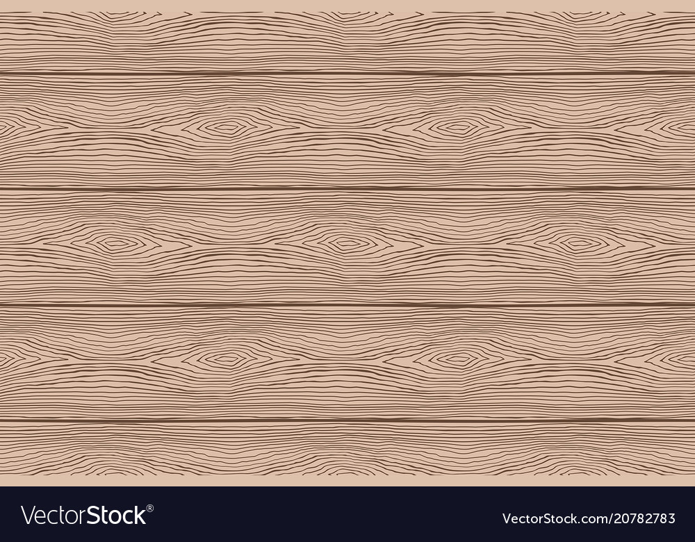 Seamless pattern of brown wooden boards