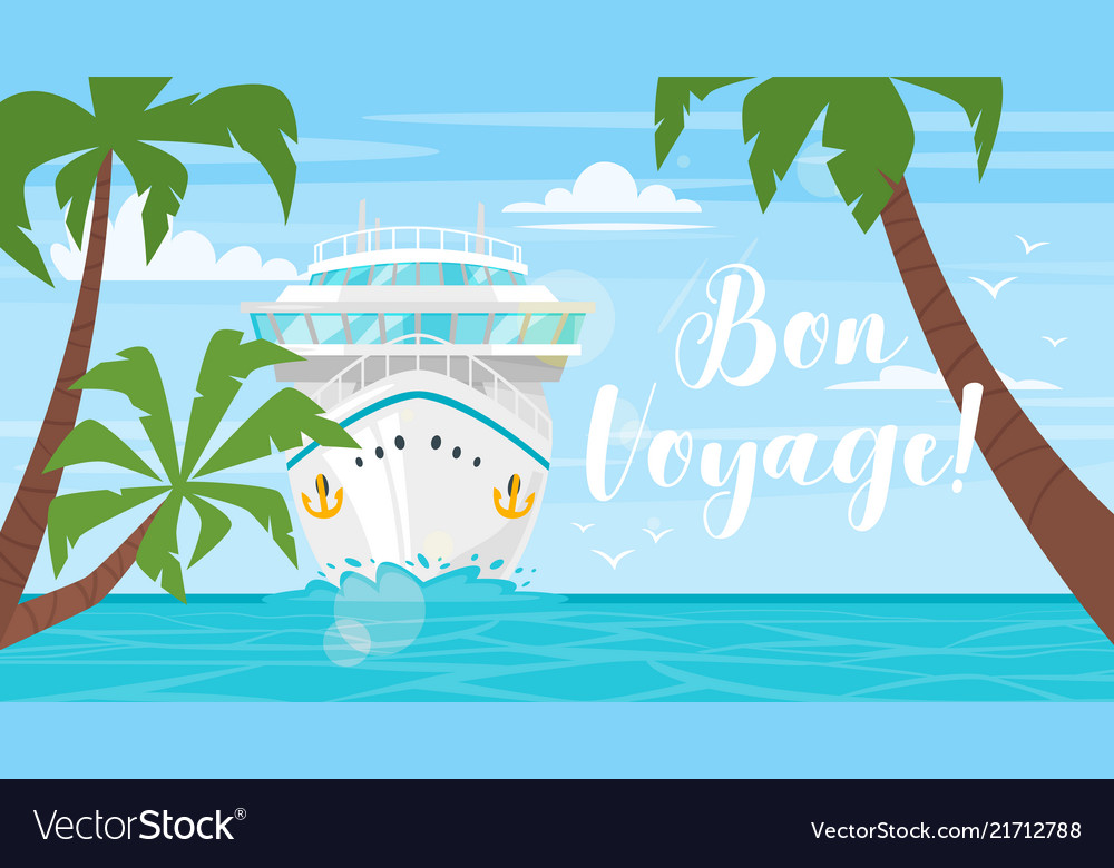 Cruise travel and tourism concept