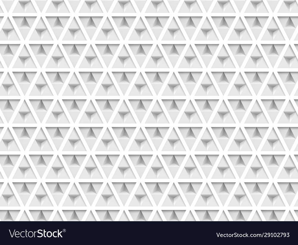 3d paper triangles seamless pattern abstract
