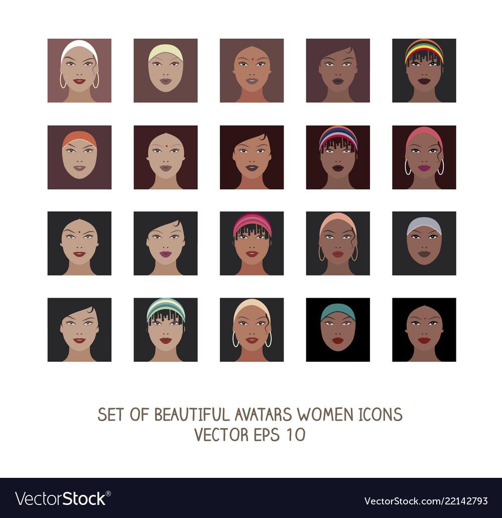 Avatars women icons-03