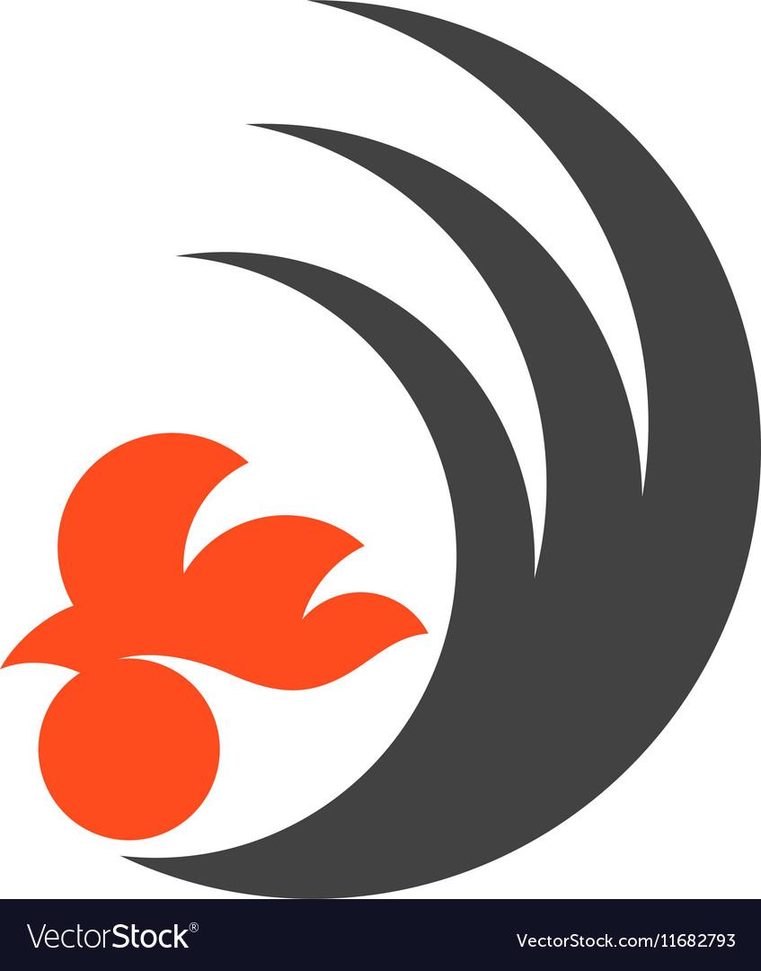 Black chicken Logo