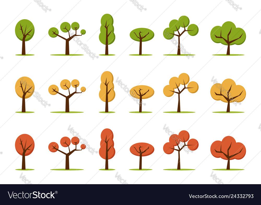Color trees set