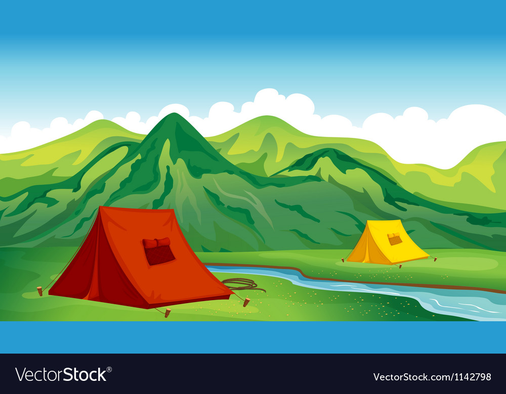 A camping site