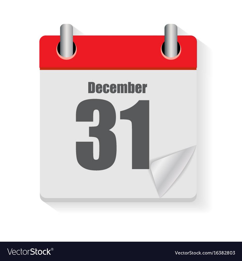 Calendar flat daily icon
