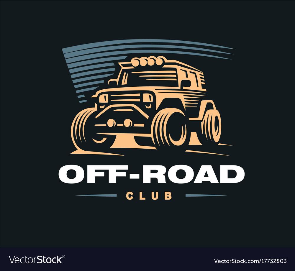 Off road car logo