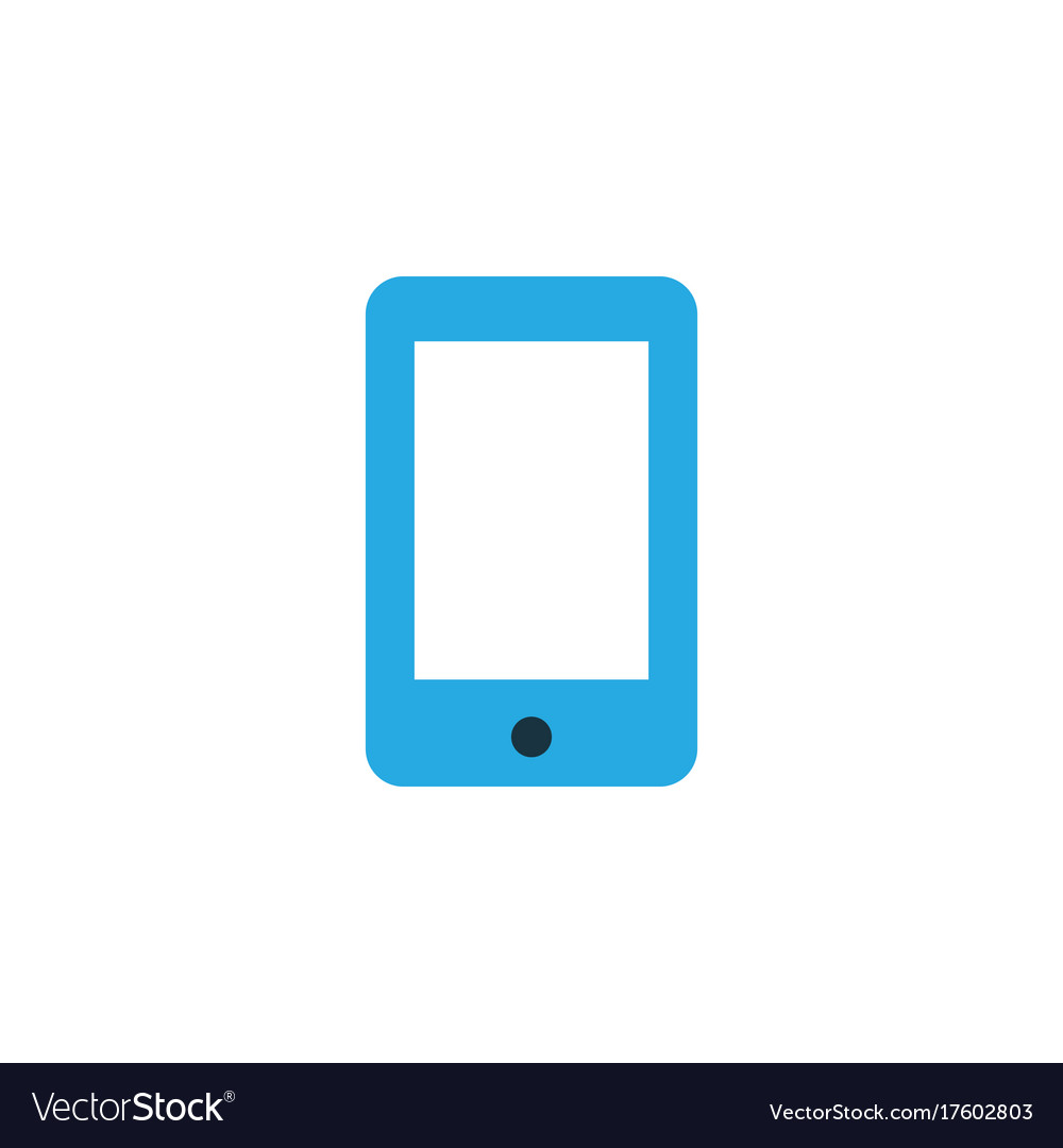 Smartphone colorful icon symbol premium quality