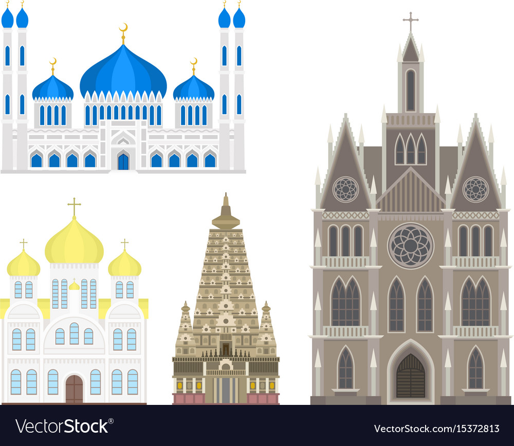 Cathedral church temple traditional building