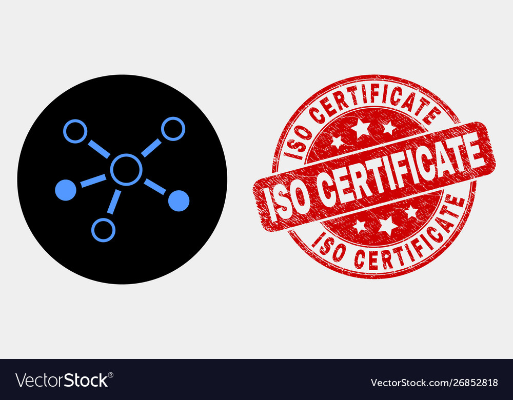 Relations icon and distress iso certificate