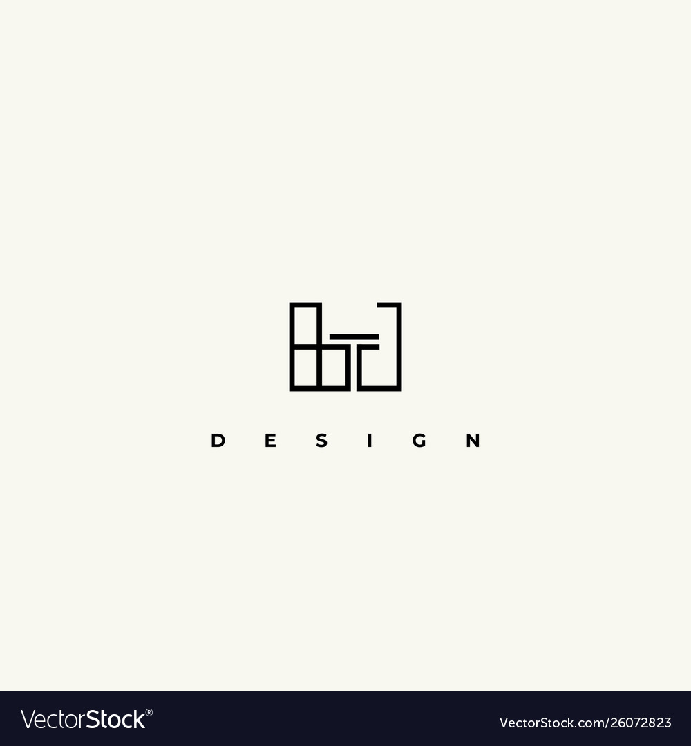 Interior Design Icon Interiors Logo Royalty Free Vector,Best Decorated Homes For Christmas