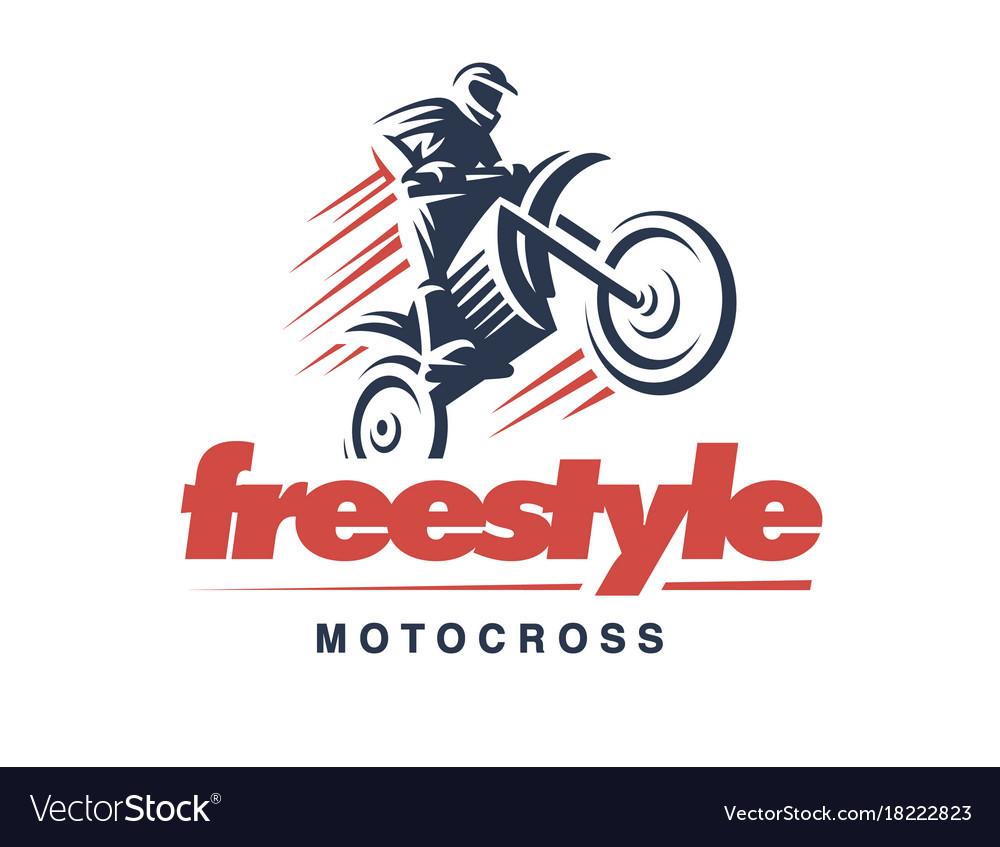 Motorcycle logo emblem design