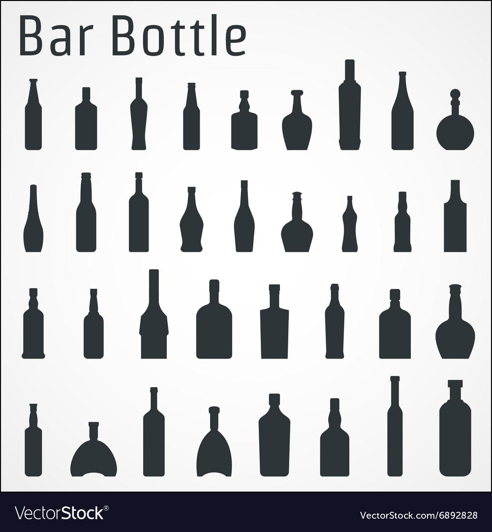 Bar bottle icon