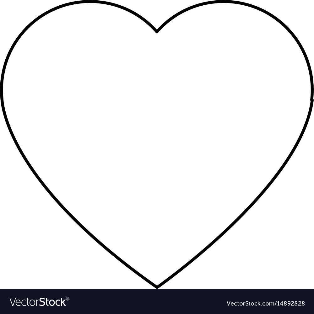 Cartoon heart romantic love decoration symbol