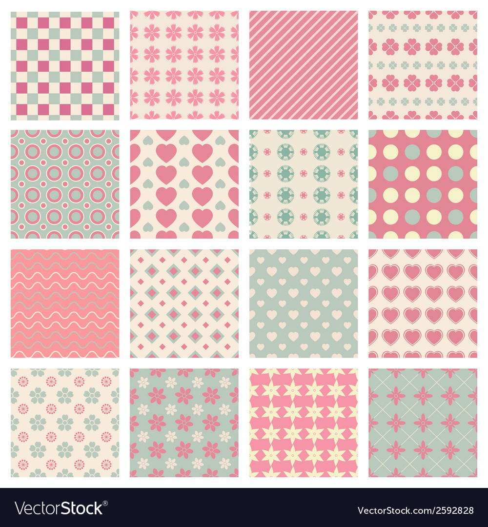 Cute and trendy patterns