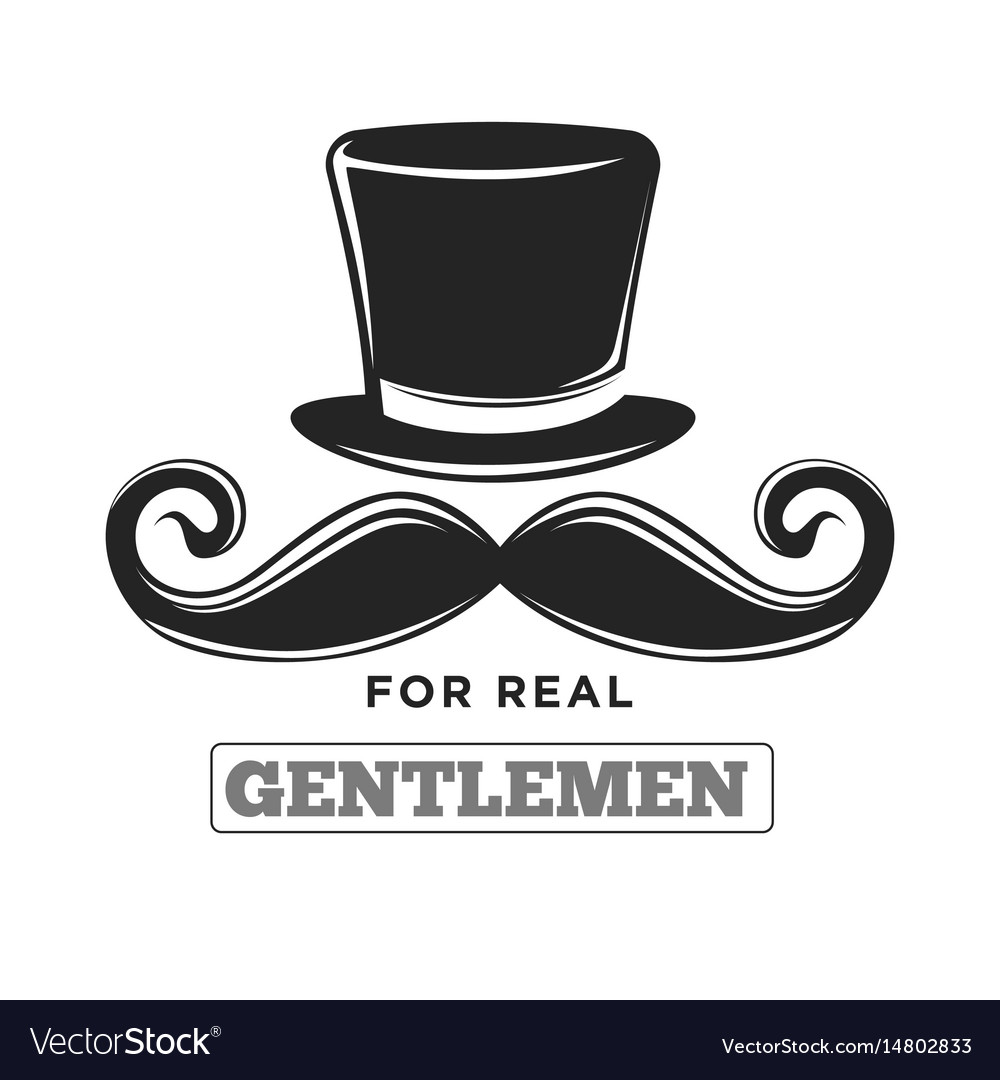 Private club only for real gentlemen black and