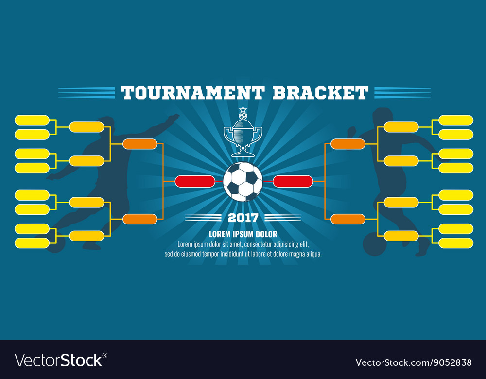 Soccer banner European football tournament