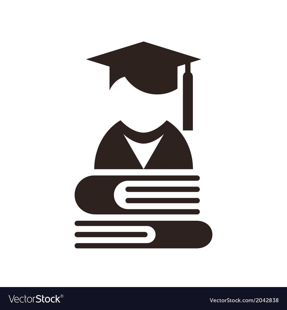 University avatar Education icon vector image