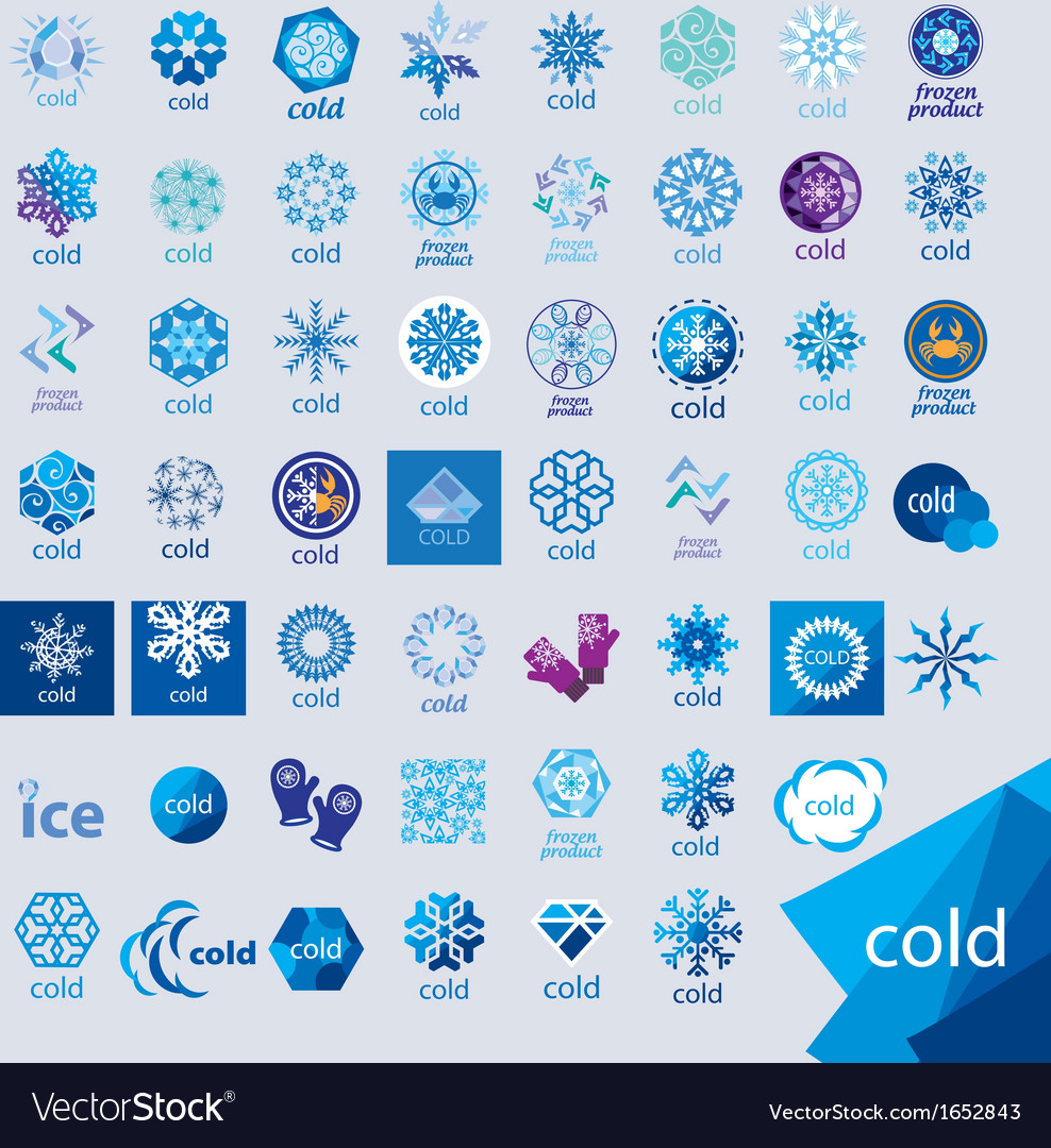 Biggest collection of logos cold and frost