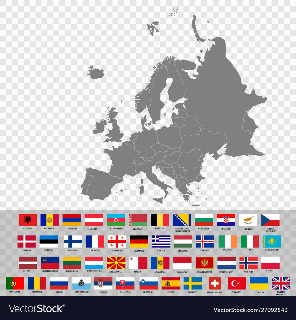 High quality map europe