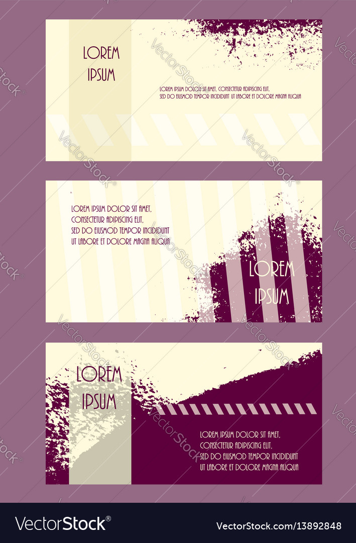 Abstract brochure headpage templates flyer grunge