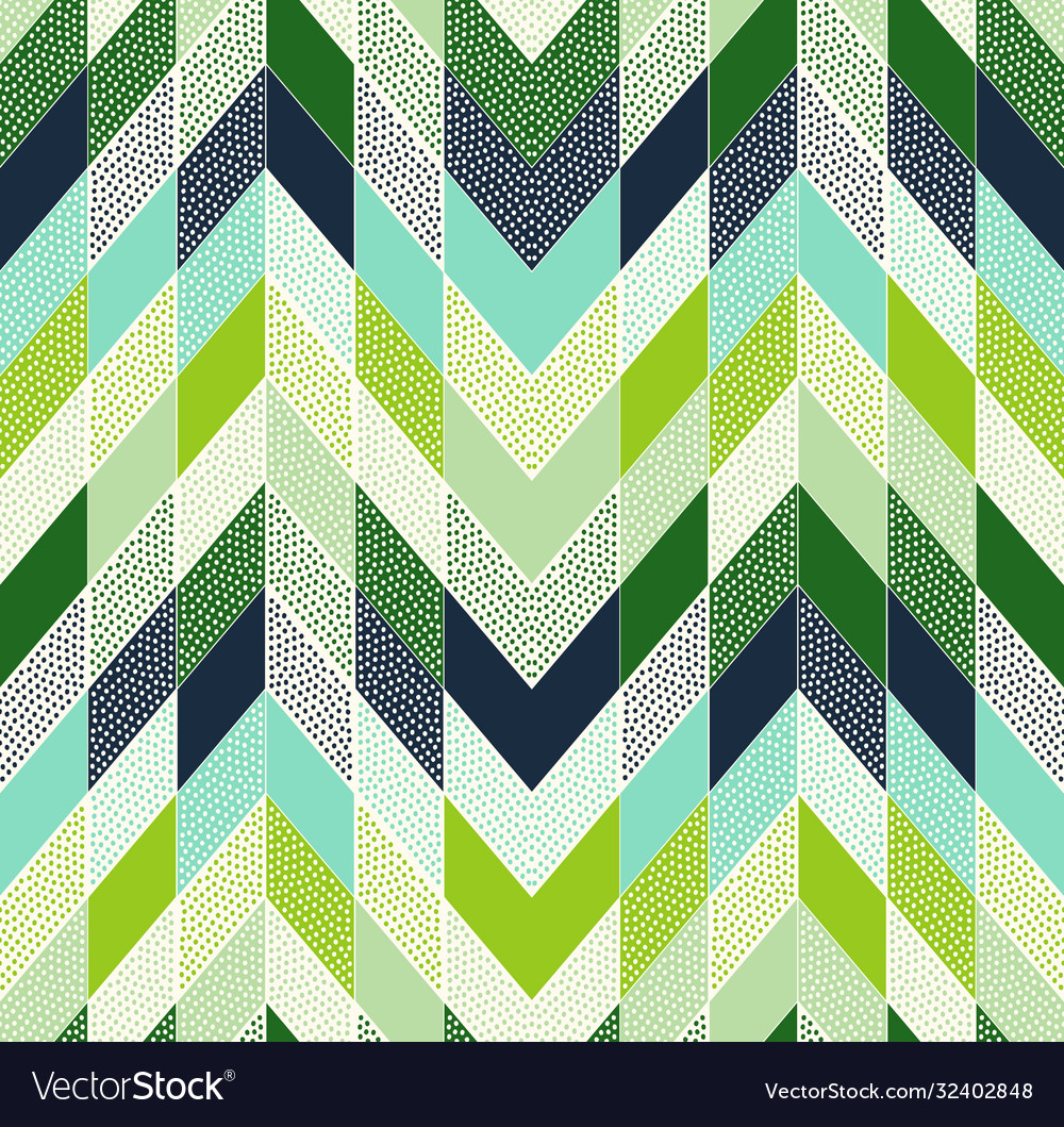 Seamless dotted geometric tile modern background
