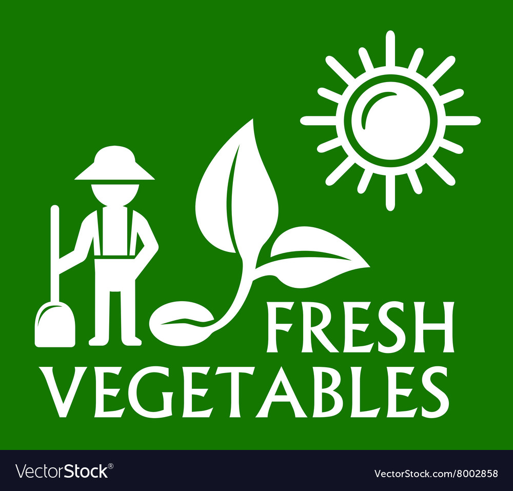 Green plant symbol