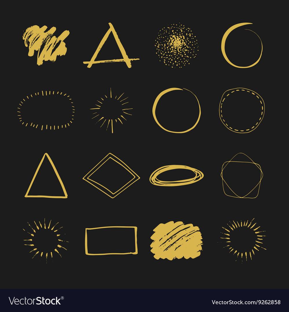 Handdrawn logo designs