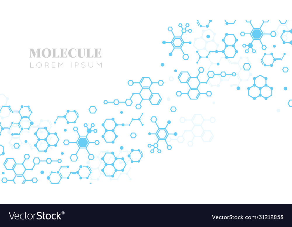 Molecular structure medicine researching dna or