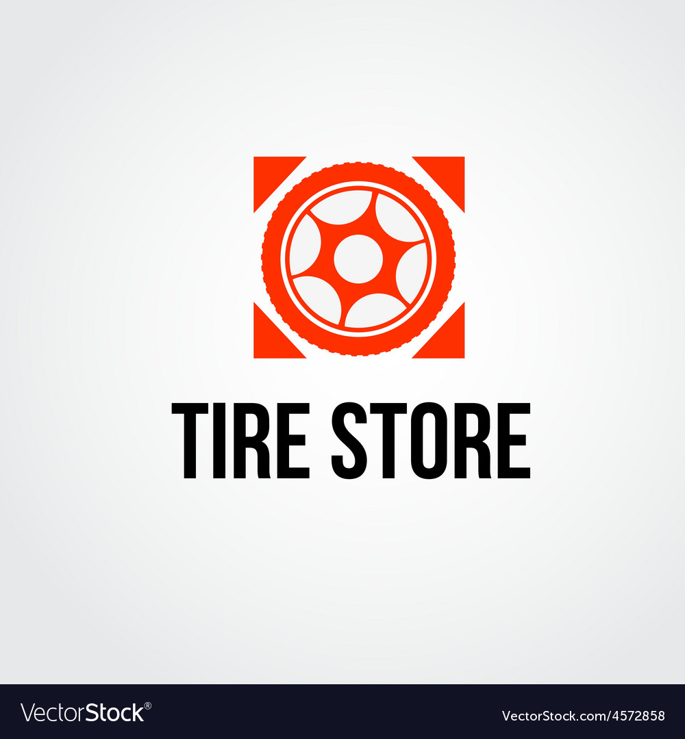 Tire service logo