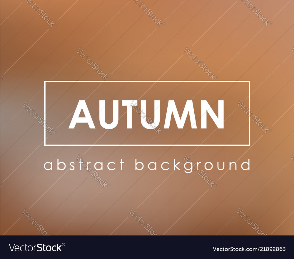 Autumn nature blur background template