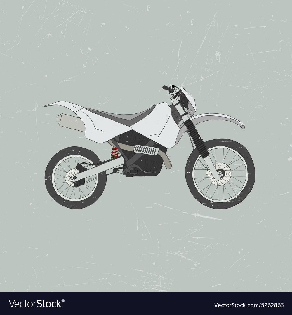 Enduro bike motocross