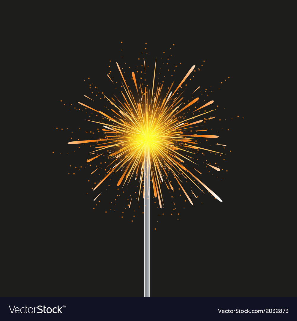 Sparkler modern background Eps 10
