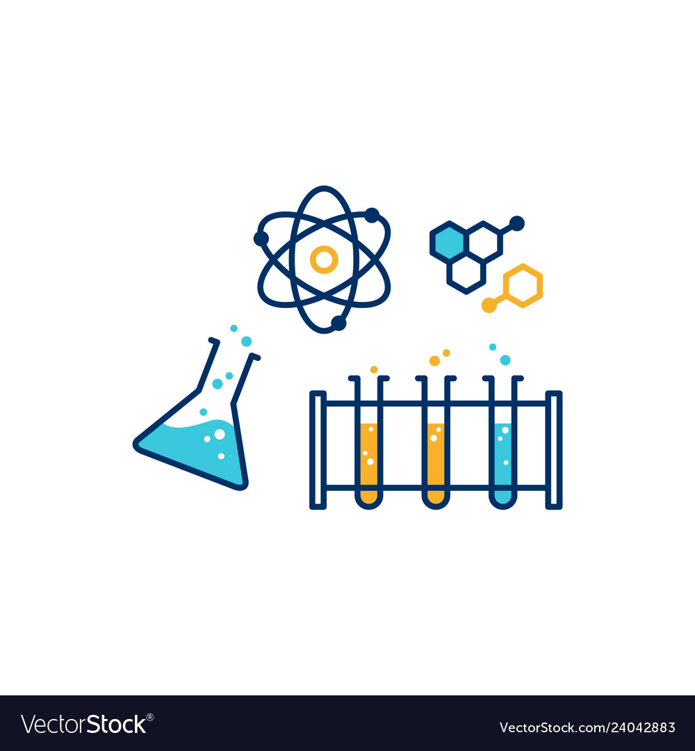 Chemical physics lab icon