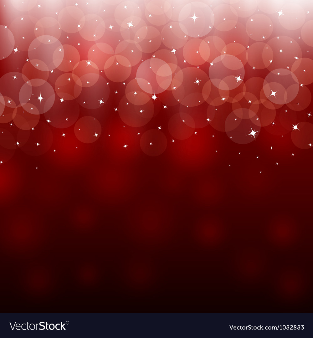 Light red holiday abstract background