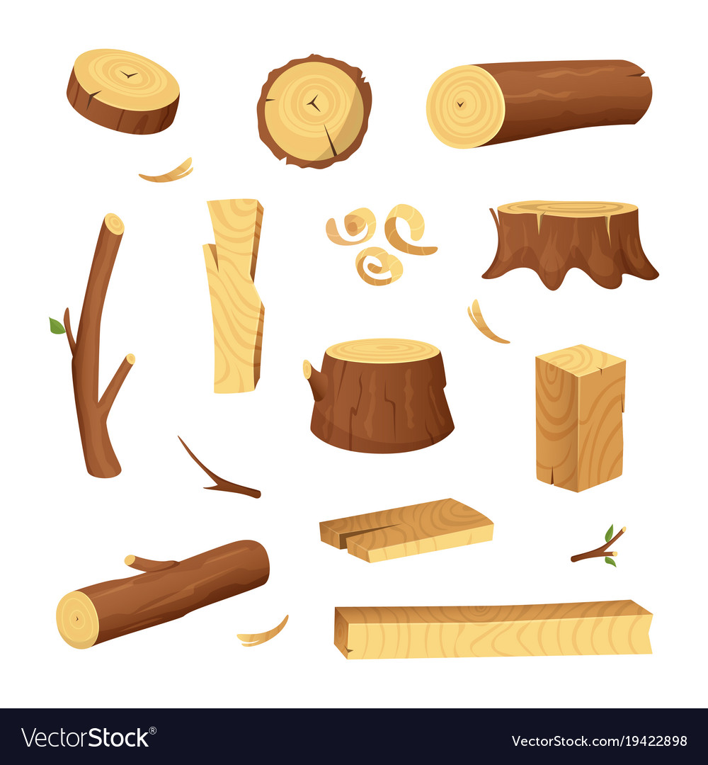 Materials for wood industry tree lumber trunk