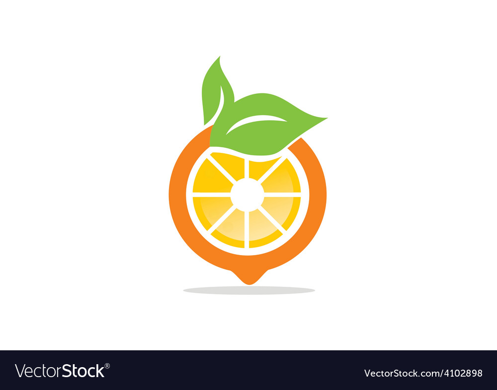 Orange Fruit Vector Orange fruit nu...