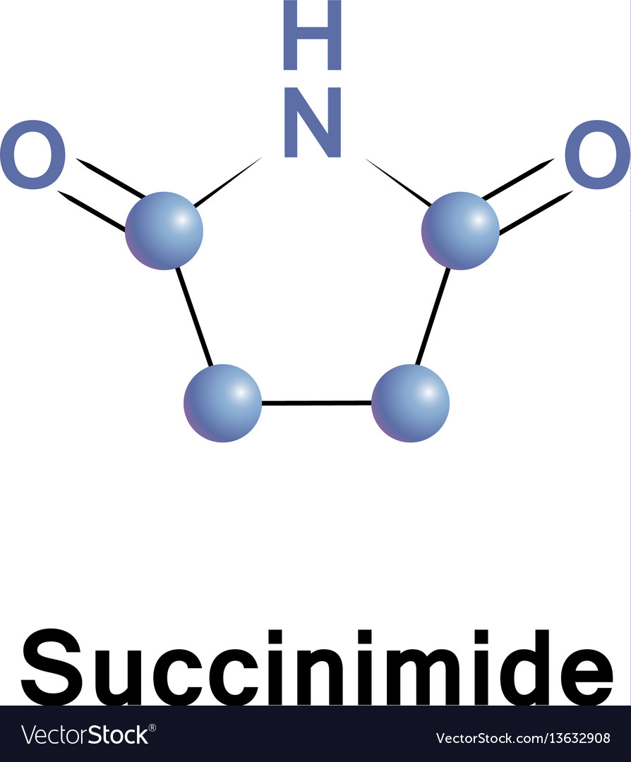 Succinimide cyclic imide