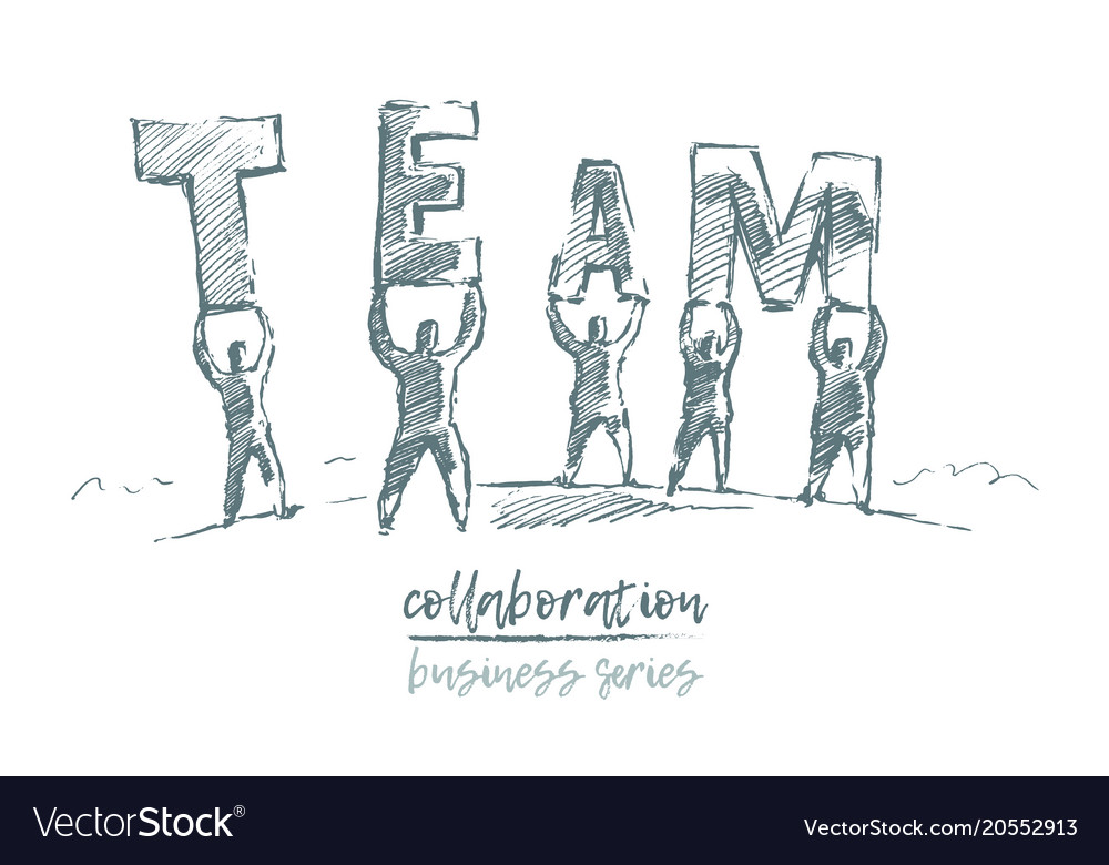 Business concept collaboration people team