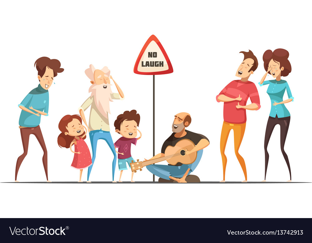 Families friends hilarious moments vector image