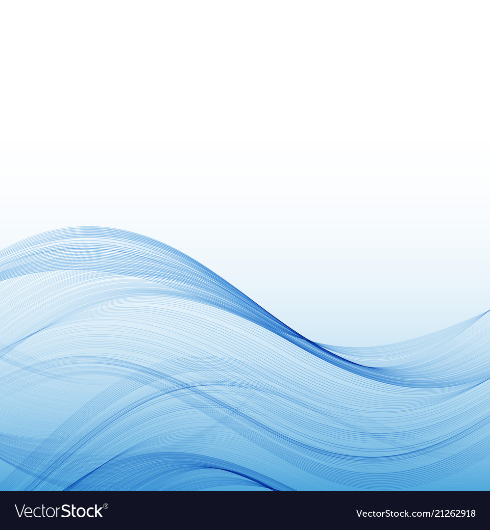 Abstract water wave surface with transparency