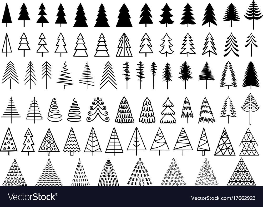 72 christmas trees set 72 christmas trees